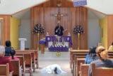 'Juan llegó por su propio pie a su Misa de cuerpo presente'