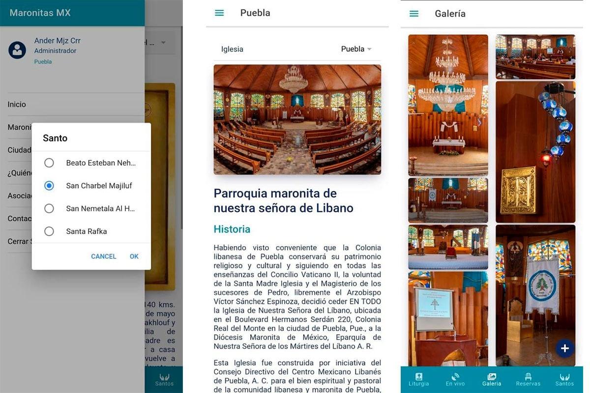 La app MaronitasMX saldrá el 14 de febrero. Foto: Diócesis maronita de México/Cortesía.