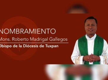El Papa Francisco nombra un nuevo obispo para la diócesis de Tuxpan