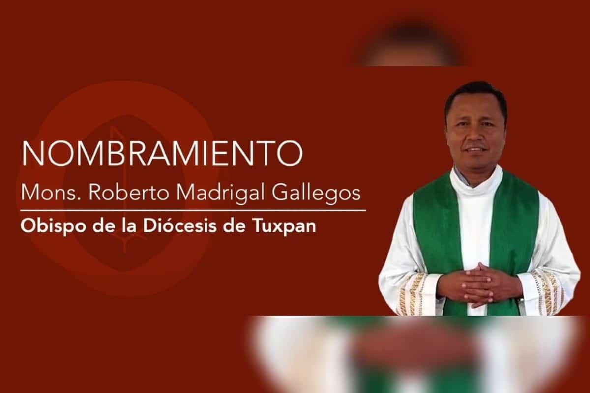 Monseñor Roberto Madrigal.