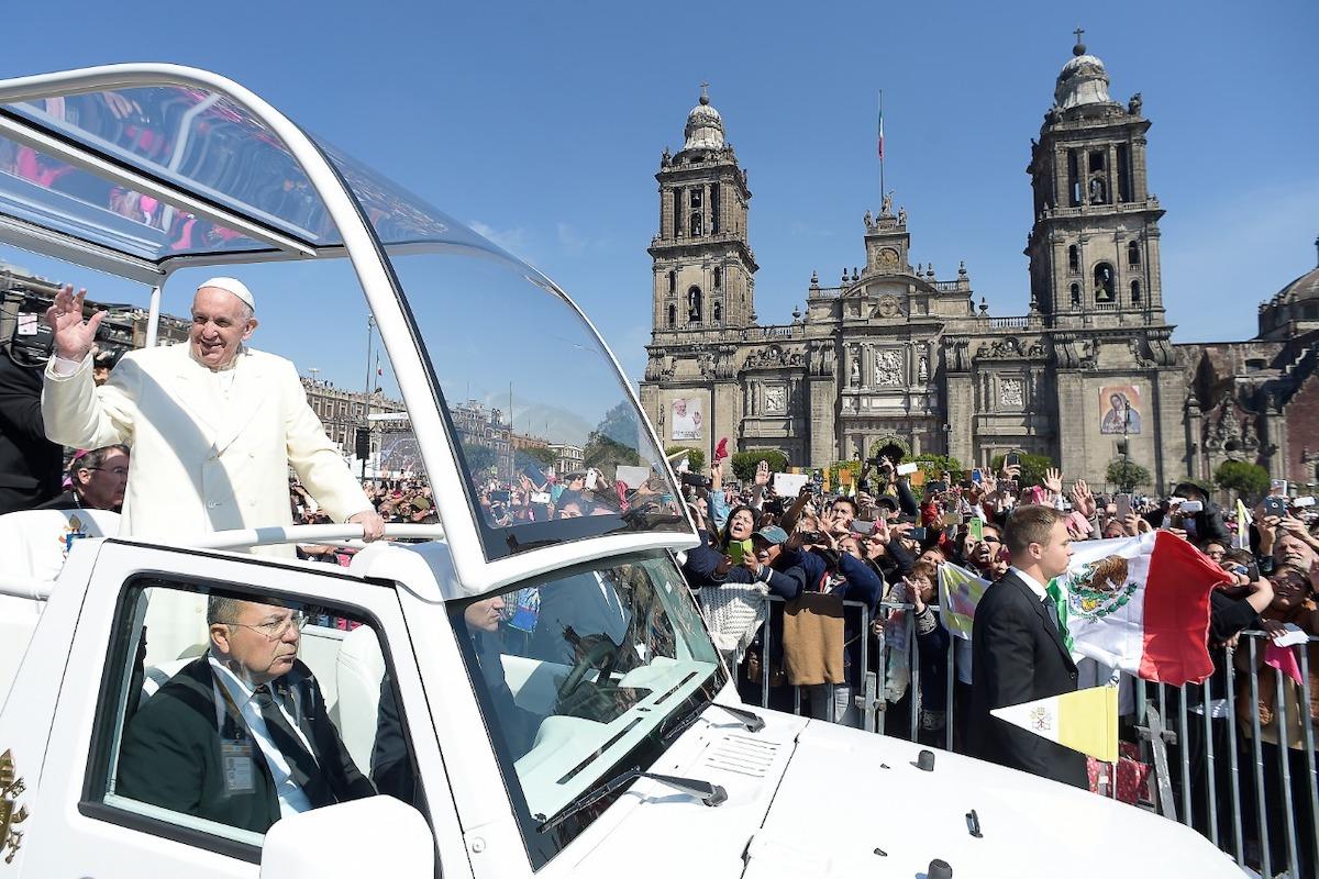 Febrero 2021: se cumplen 5 años de la visita del Papa Francisco a México