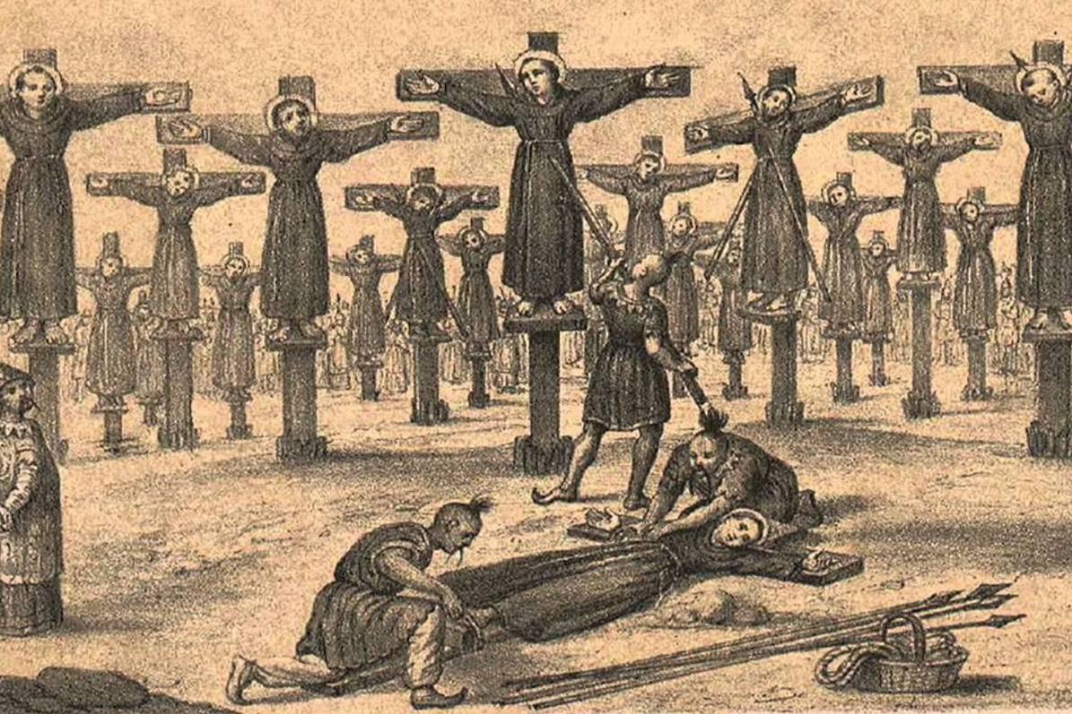 Compañeros mártires de San Felipe de Jesús.