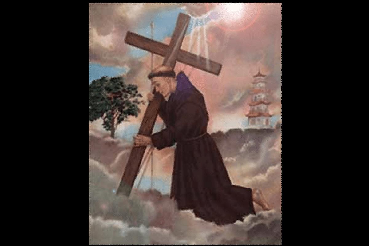San Felipe de Jesús, mártir mexicano.