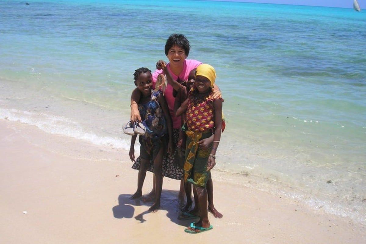 La hermana Clara Torres, en Mozambique. Foto: Cortesía.