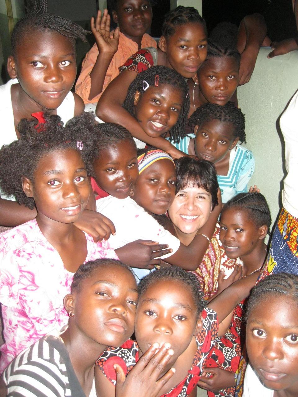 Hermana Clara Torres, en Mozambique. Foto: Cortesía.
