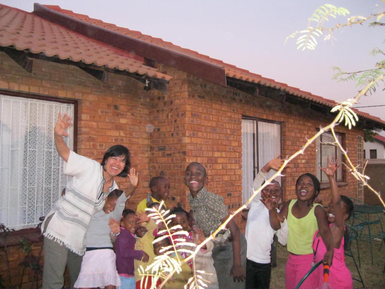 La hermana Clara Torres, en Sudáfrica. Foto: Cortesía.