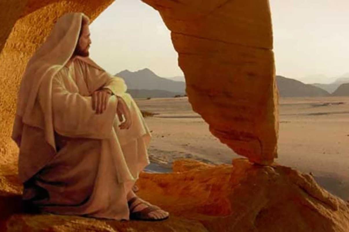 La Cuaresma de Jesús es aquella en la que el Espíritu lo llevó al desierto.