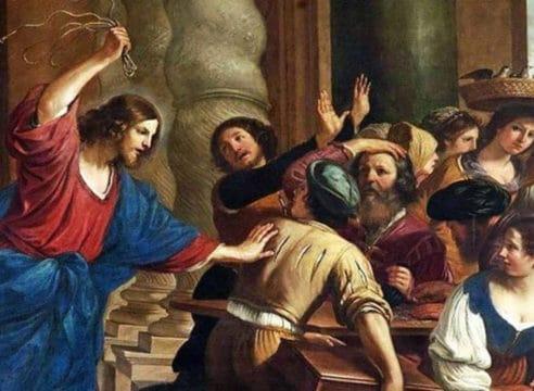 ¿Cómo interpretar que Jesús retire a los vendedores del templo?