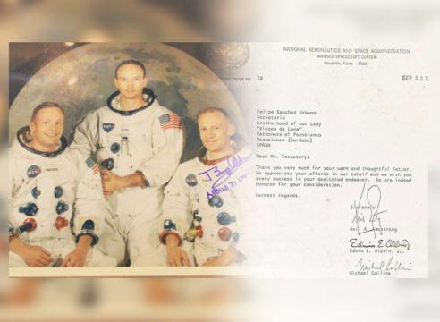 Ella es la Virgen de Luna, la intercesora de los astronautas