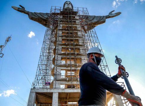 Construyen en Brasil un Cristo más alto que el de Río de Janeiro