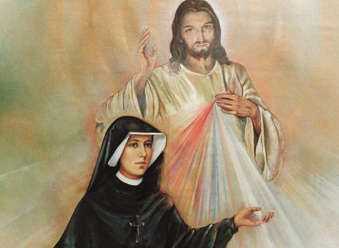 Esto escribió Sor Faustina en su Diario sobre la Divina Misericordia