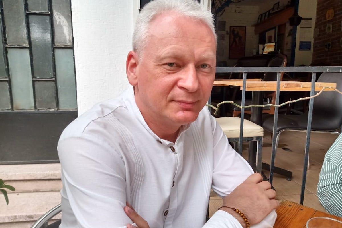 Dominik Kustra, misionero de la fundación Ayuda a la Iglesia Necesitada.
