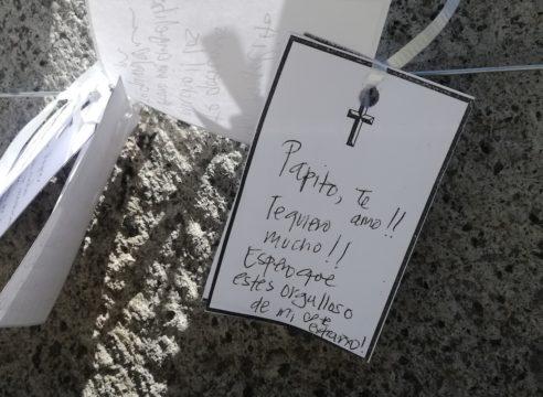 El memorial que nació en Basílica de Guadalupe en época de Covid-19