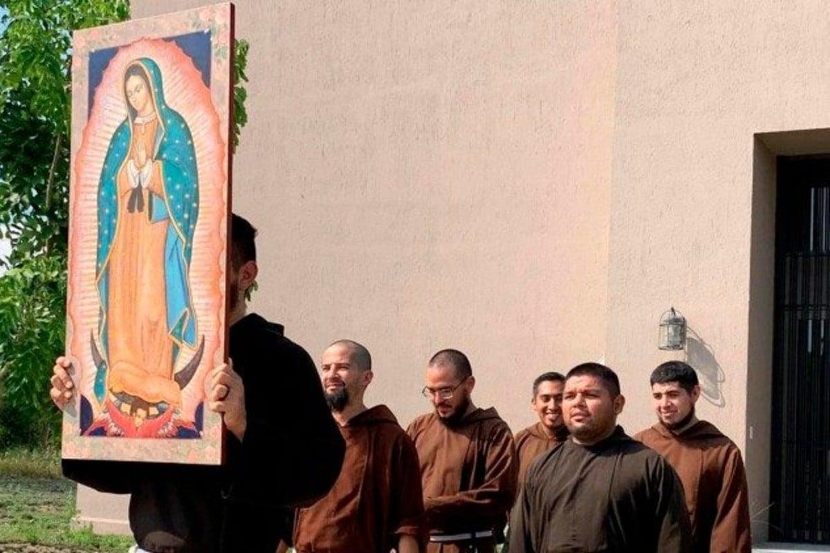 Frailes Capuchinos Menores. Foto: Vatican News.