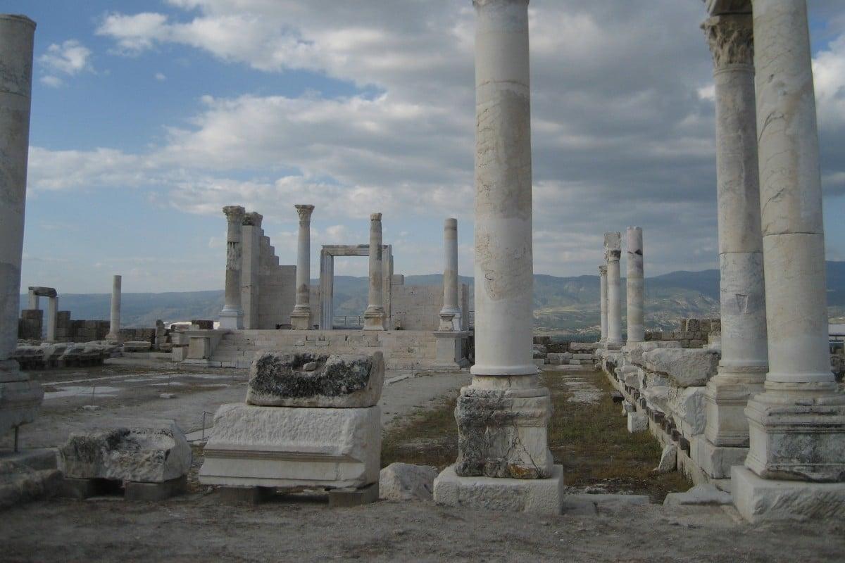 Ruinas de Laodicea. Foto. Wikipedia.