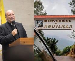 Itinerario de la vista del Nuncio Apostólico a Aguililla, Michoacán