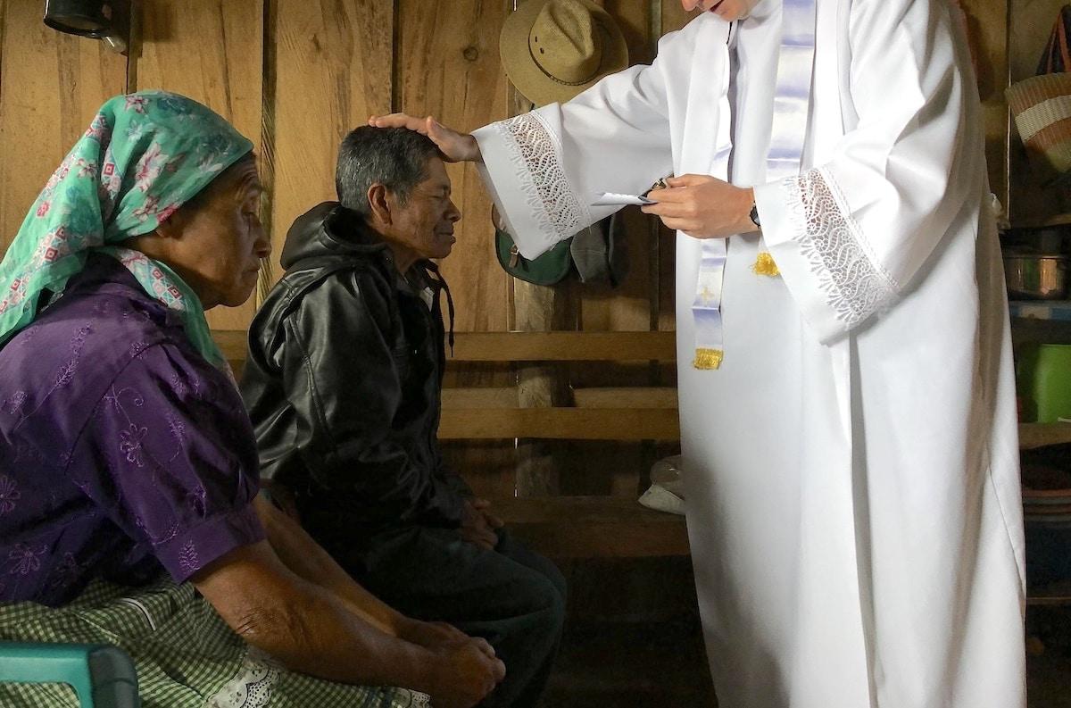 Oración para bendecir a los enfermos.