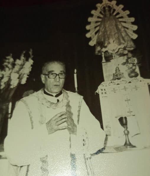 Padre Aristi. Foto cedida por Lucas Schaerer a Alfa y Omega.