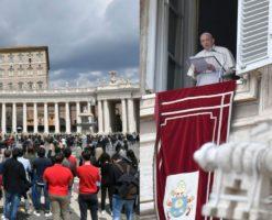 El Papa se reencuentra con los fieles y enumera los 3 verbos del amor