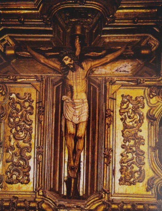 Cristo de los Conquistadores en la Catedral Metropolitana