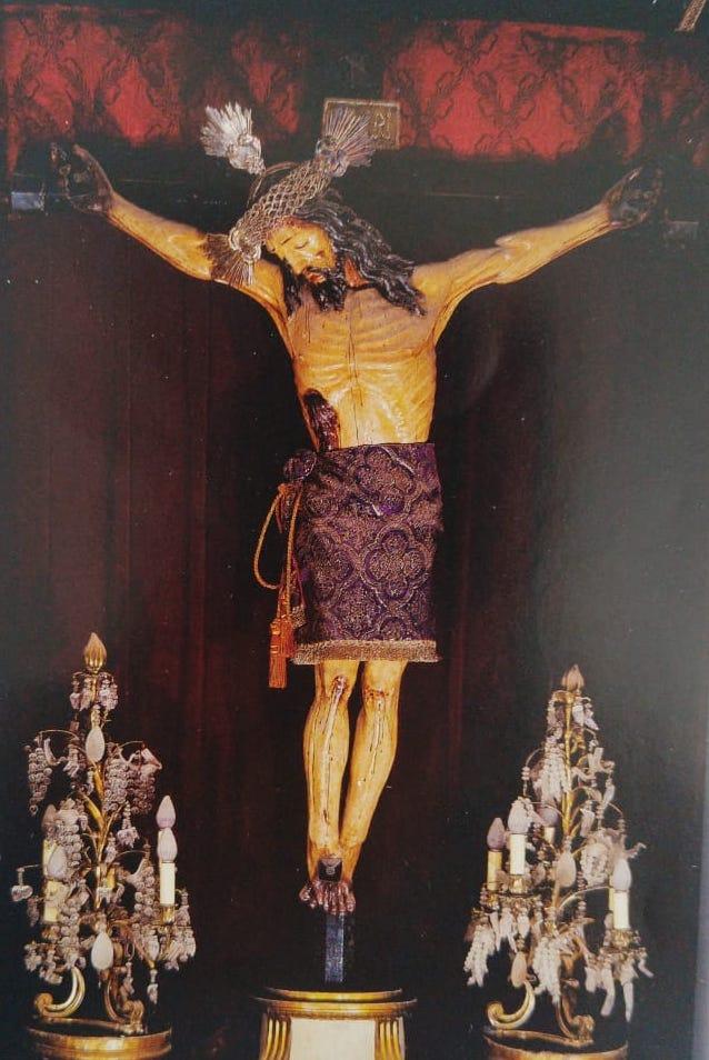 Señor del Buen Despacho en la Catedral de México