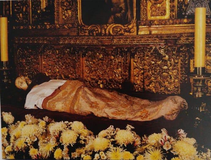 Señor del Santo Entierro en la Catedral Metropolitana