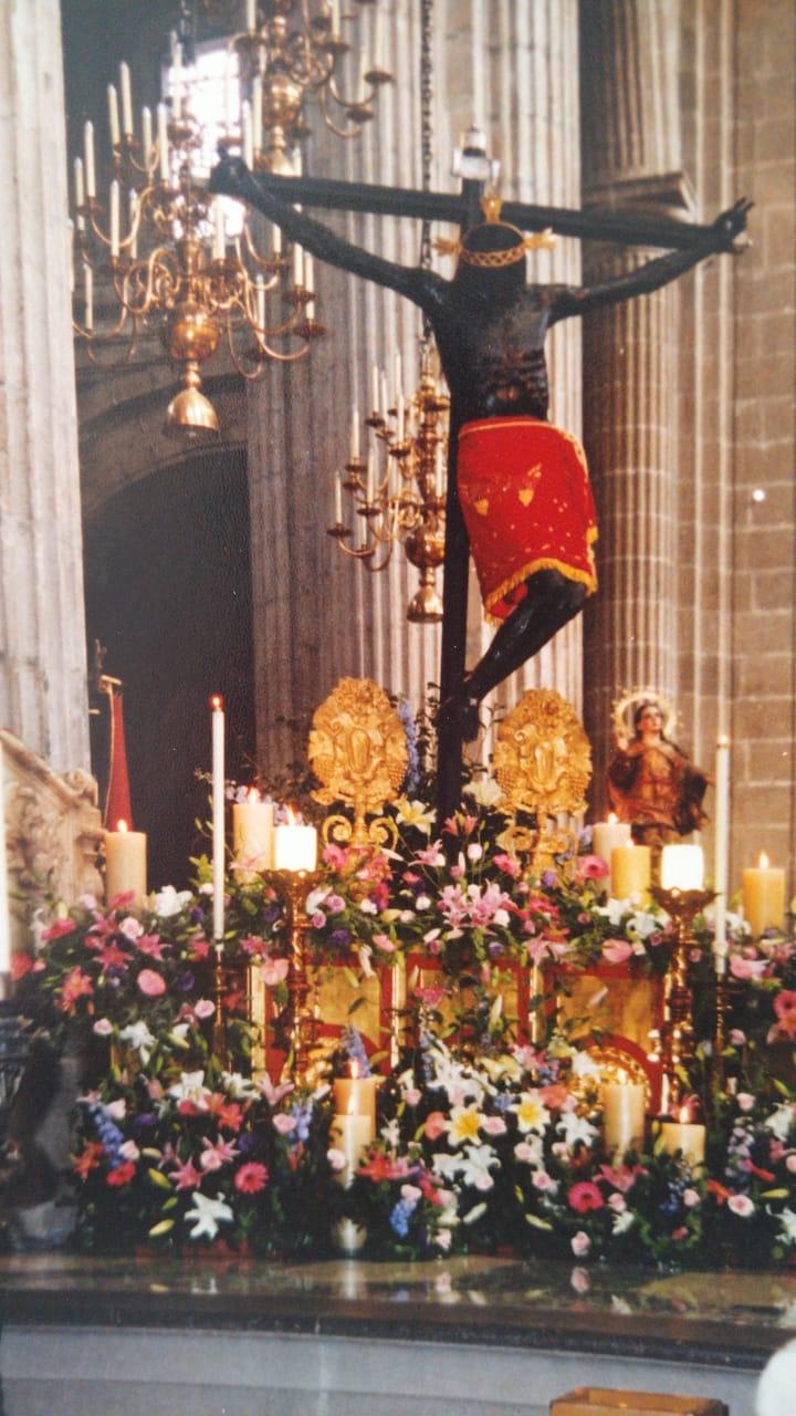 Señor del Veneno en la Catedral de México