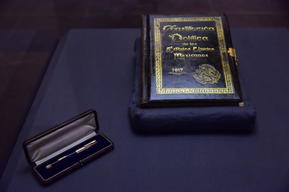 Constitución Política de los Estados Unidos Mexicanos. Foto: www.gob.mx