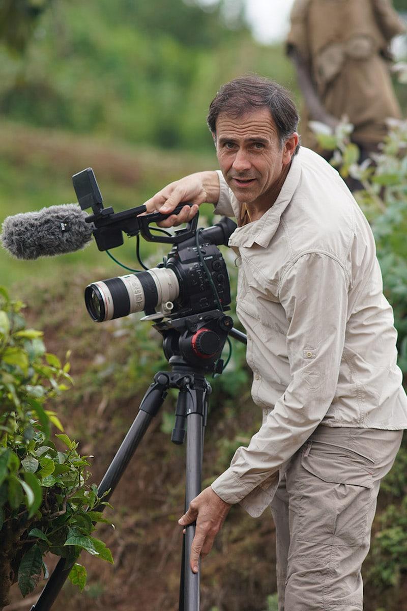 Juan Manuel Cotelo es periodista, escritor y director de cine. Foto: Alexis Martínez Soriano.