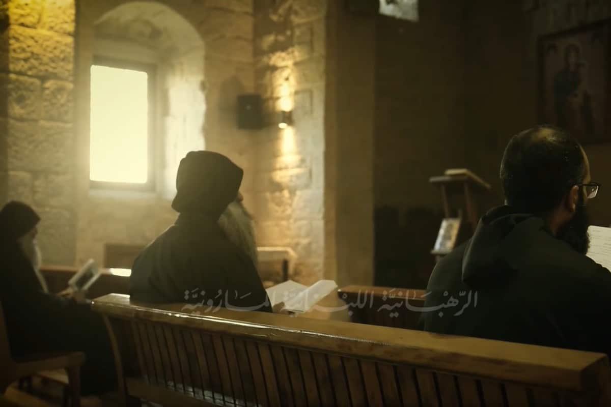 Fotograma del Documental de la Orden Libanesa Maronita.