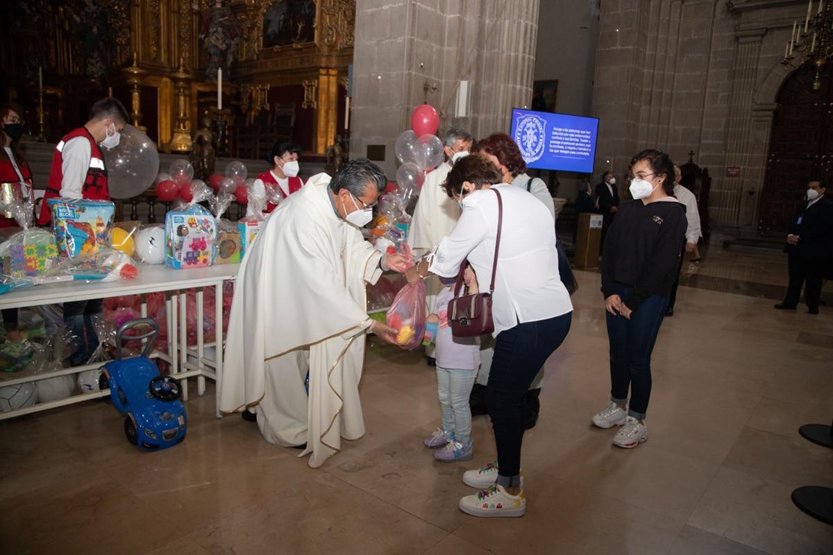 Día del Niño en la Catedral de México. Foto: María Langarica.