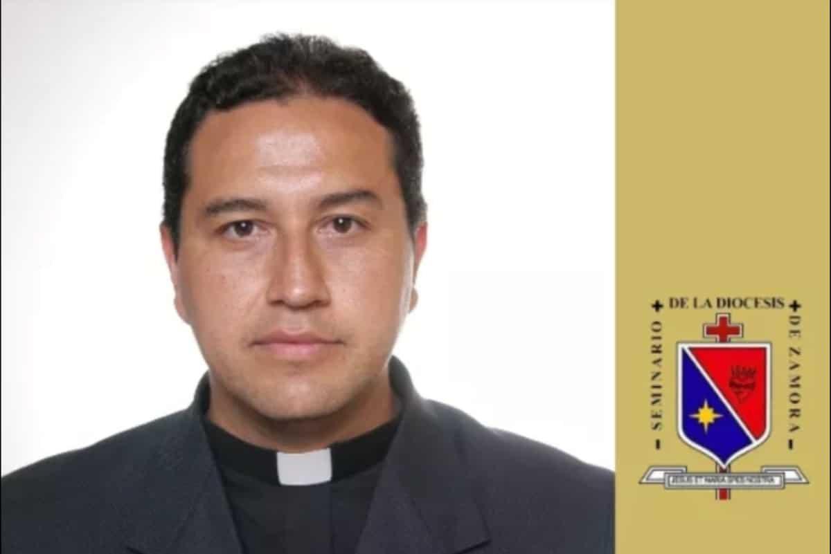 Pbro. Francisco Figueroa Cervantes, Obispo Auxiliar Electo. Foto: Diócesis de Zamora/Facebook.