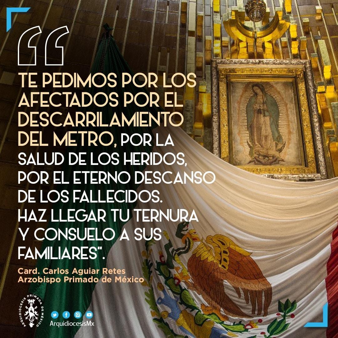 Parte de la oración pronunciada en la Basílica de Guadalupe.