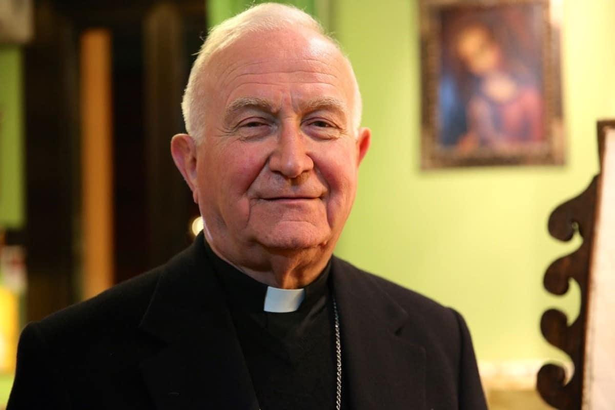 Giuseppe Mani, director espiritual de Franco Coppola. Foto: www.giuseppemani.it