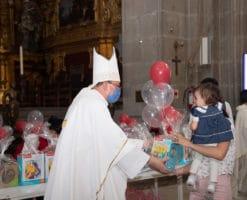 Juguetón 2021: Las sonrisas de los niños 'iluminan' la Catedral de México