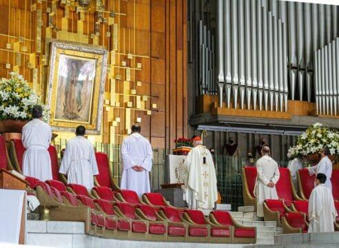 En Basílica de Guadalupe realizan oración por las elecciones 2021