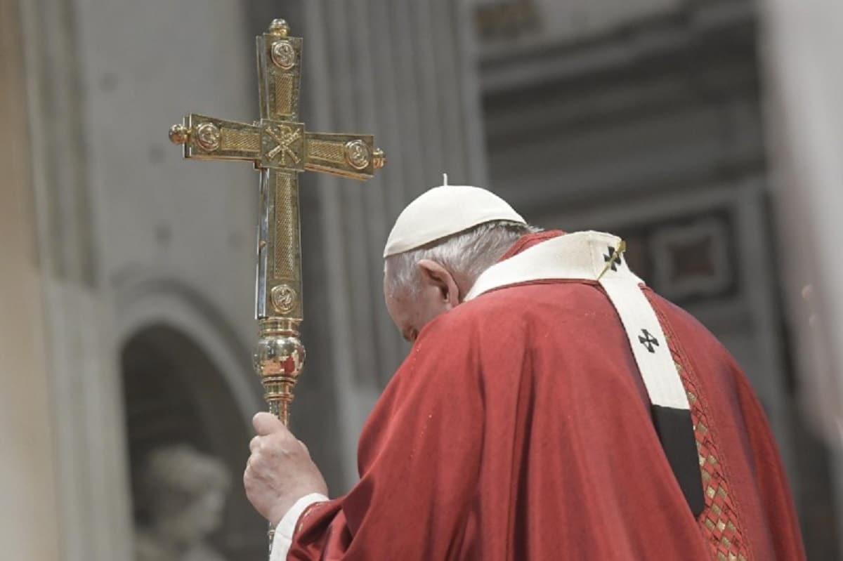 El Papa Francisco preside la Misa de Pentecostés 2021. Foto: Vatican Media.