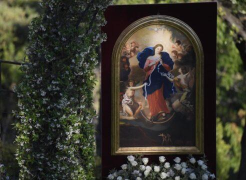 La Virgen Desatanudos, intercesora de Matrimonios y la favorita del Papa