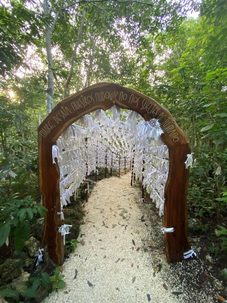 Santuario de la Virgen Desatadora de Nudos en Cancún. Foto: William Luca
