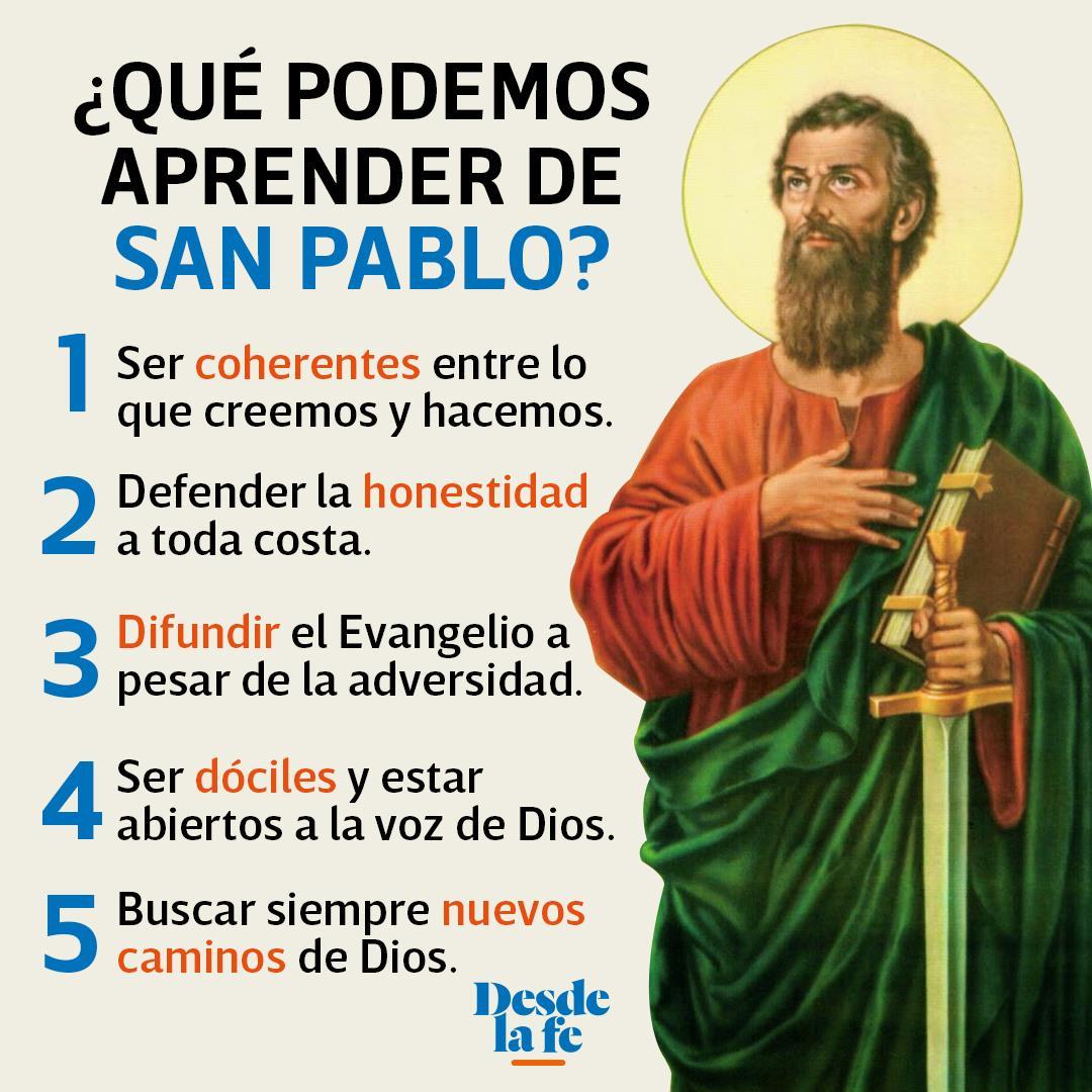 ¿Qué podemos aprender de San Pablo?