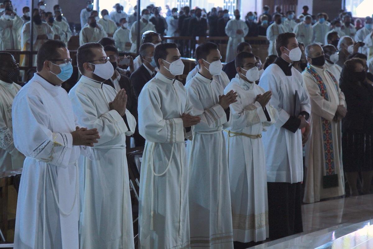 Fue la segunda ordenación en la pandemia de Covid-19. Foto: Basílica de Guadalupe