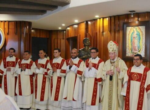 Arquidiócesis de México tiene 10 nuevos diáconos, así fue su ordenación