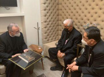 El Cardenal Pietro Parolin inicia su visita a México