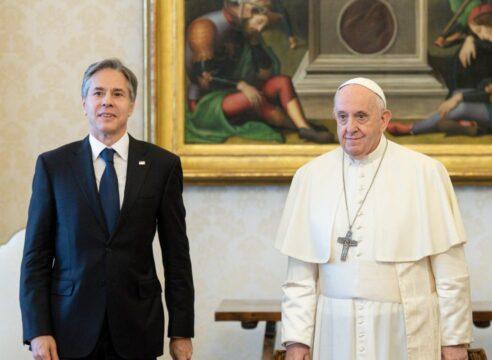 El Papa Francisco recibe en audiencia al Secretario de Estado de EE UU