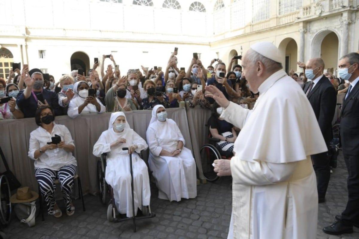 El Papa Francisco en audiencia general. Foto: Vatican Media.