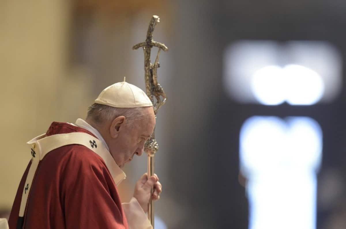 El Papa Francisco en la Solemnidad de San Pedro y San Pablo 2020. Foto: Vatican Media