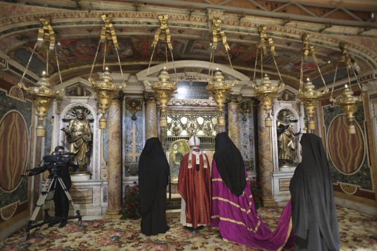 Papa Francisco en la Solemnidad de San Pedro y San Pablo.