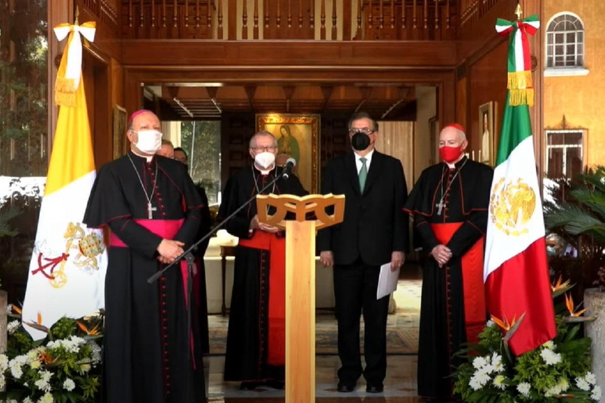 Este lunes se llevó a cabo una recepción en la Nunciatura Apostólica.