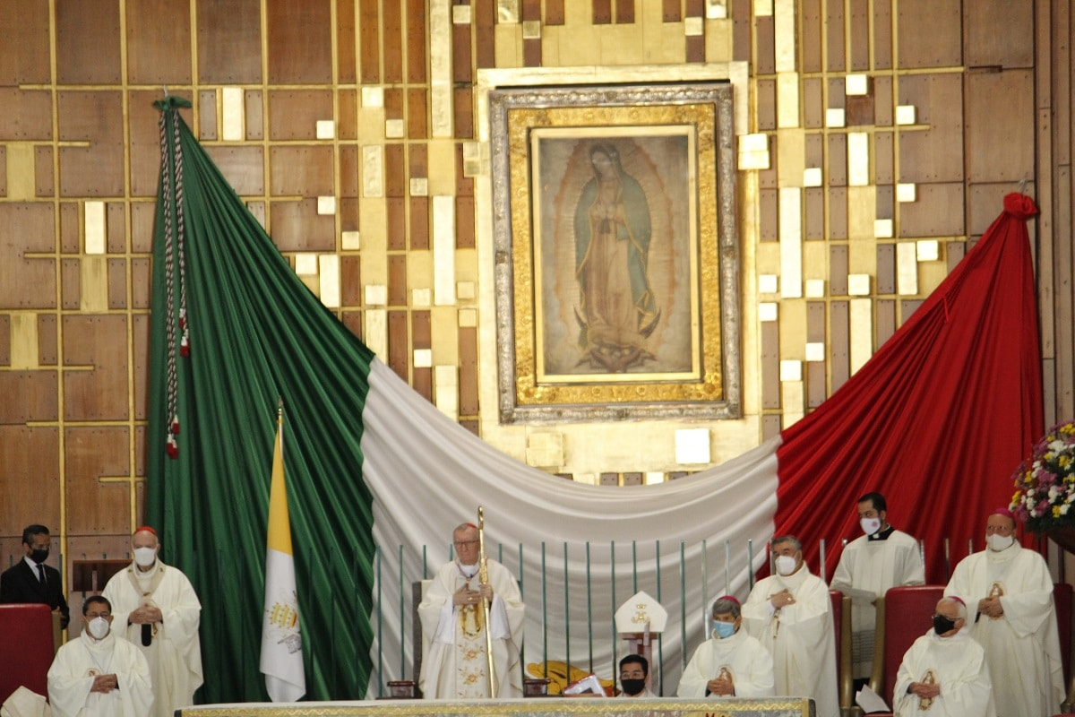 El Cardenal Pietro Parolin, número dos del Vaticano, visita México del 17 al 21 de junio de 2021. Foto: INBG/Cortesía