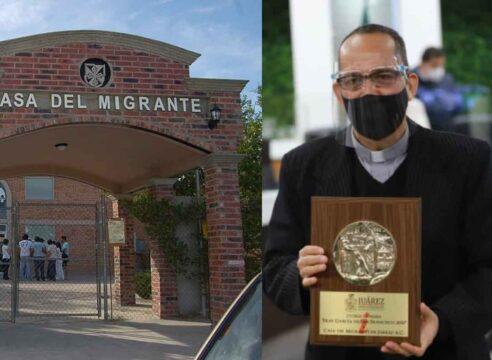 P. Javier Calvillo, de joven rebelde a 'angel' de los migrantes en Cd. Juárez